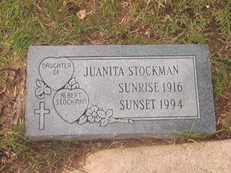 STOCKMAN, JUANITA - Calhoun County, Arkansas | JUANITA STOCKMAN - Arkansas Gravestone Photos