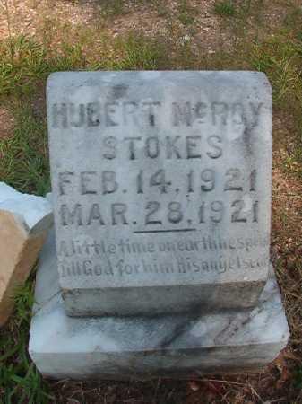 STOKES, HUBERT MCROY - Calhoun County, Arkansas   HUBERT MCROY STOKES - Arkansas Gravestone Photos
