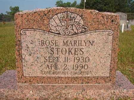 STOKES, ROSE MARILYN - Calhoun County, Arkansas   ROSE MARILYN STOKES - Arkansas Gravestone Photos