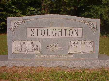 STOUGHTON, LOUIS B - Calhoun County, Arkansas | LOUIS B STOUGHTON - Arkansas Gravestone Photos