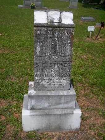 STOVER, SARAH E - Calhoun County, Arkansas | SARAH E STOVER - Arkansas Gravestone Photos