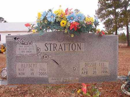 STRATTON, DESSIE LEE - Calhoun County, Arkansas   DESSIE LEE STRATTON - Arkansas Gravestone Photos