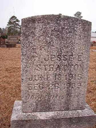 STRATTON, JESSE E - Calhoun County, Arkansas | JESSE E STRATTON - Arkansas Gravestone Photos