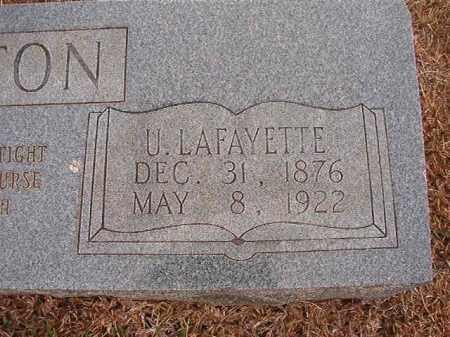 STRATTON, U LAFAYETTE - Calhoun County, Arkansas   U LAFAYETTE STRATTON - Arkansas Gravestone Photos
