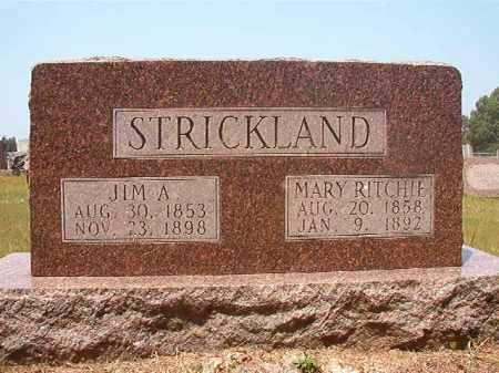 STRICKLAND, MARY - Calhoun County, Arkansas | MARY STRICKLAND - Arkansas Gravestone Photos