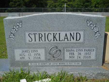 PARKER STRICKLAND, DIANA LYNN - Calhoun County, Arkansas | DIANA LYNN PARKER STRICKLAND - Arkansas Gravestone Photos