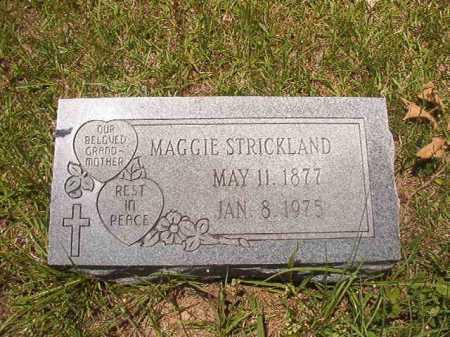 STRICKLAND, MAGGIE - Calhoun County, Arkansas | MAGGIE STRICKLAND - Arkansas Gravestone Photos
