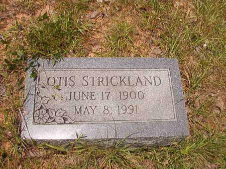 STRICKLAND, OTIS - Calhoun County, Arkansas | OTIS STRICKLAND - Arkansas Gravestone Photos
