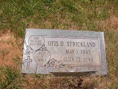 STRICKLAND, OTIS D - Calhoun County, Arkansas | OTIS D STRICKLAND - Arkansas Gravestone Photos
