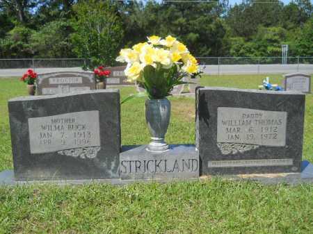 STRICKLAND, WILLIAM THOMAS - Calhoun County, Arkansas | WILLIAM THOMAS STRICKLAND - Arkansas Gravestone Photos
