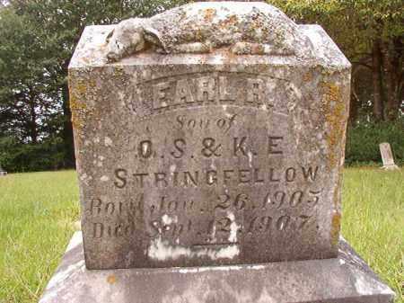 STRINGFELLOW, EARL R - Calhoun County, Arkansas | EARL R STRINGFELLOW - Arkansas Gravestone Photos