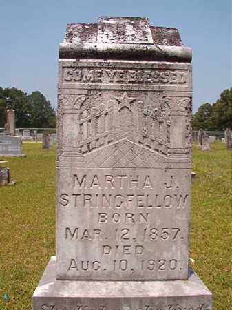 STRINGFELLOW, MARTHA J - Calhoun County, Arkansas | MARTHA J STRINGFELLOW - Arkansas Gravestone Photos