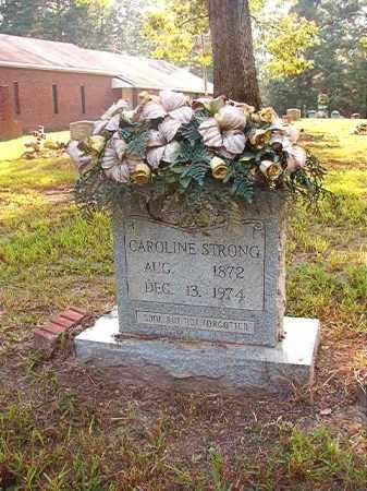 STRONG, CAROLINE - Calhoun County, Arkansas | CAROLINE STRONG - Arkansas Gravestone Photos