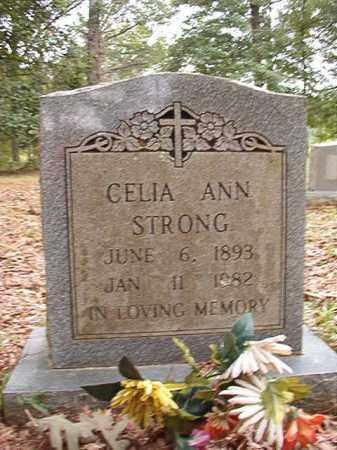 STRONG, CELIA ANN - Calhoun County, Arkansas | CELIA ANN STRONG - Arkansas Gravestone Photos