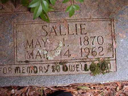 STRONG, SALLIE - Calhoun County, Arkansas | SALLIE STRONG - Arkansas Gravestone Photos