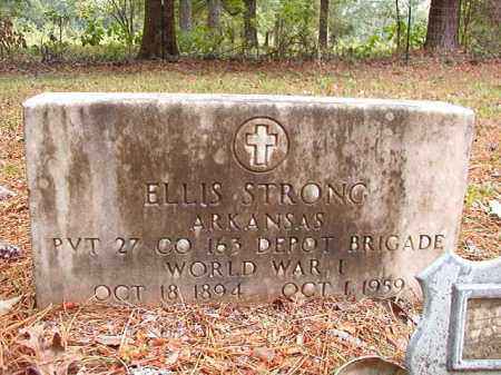 STRONG (VETERAN WWI), ELLIS - Calhoun County, Arkansas | ELLIS STRONG (VETERAN WWI) - Arkansas Gravestone Photos