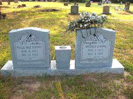 STRONG, WILLIE MAE - Calhoun County, Arkansas   WILLIE MAE STRONG - Arkansas Gravestone Photos