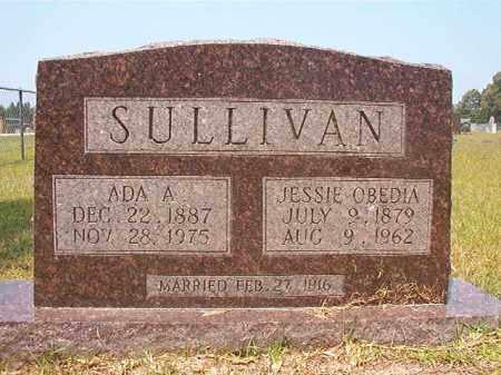 SULLIVAN, JESSIE OBEDIA - Calhoun County, Arkansas | JESSIE OBEDIA SULLIVAN - Arkansas Gravestone Photos