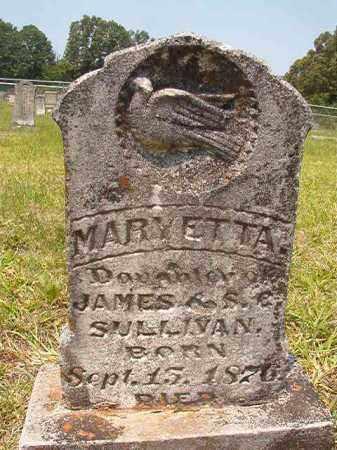 SULLIVAN, MARY ETTA - Calhoun County, Arkansas | MARY ETTA SULLIVAN - Arkansas Gravestone Photos