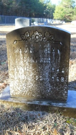 SUMLER, HAZEL JEAN - Calhoun County, Arkansas | HAZEL JEAN SUMLER - Arkansas Gravestone Photos