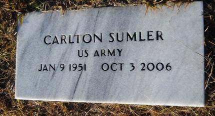 SUMLER (VETERAN), CARLTON - Calhoun County, Arkansas | CARLTON SUMLER (VETERAN) - Arkansas Gravestone Photos