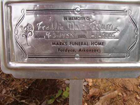 TATUM, FREDDIE MURL - Calhoun County, Arkansas   FREDDIE MURL TATUM - Arkansas Gravestone Photos