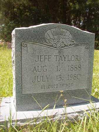 TAYLOR, JEFF - Calhoun County, Arkansas | JEFF TAYLOR - Arkansas Gravestone Photos