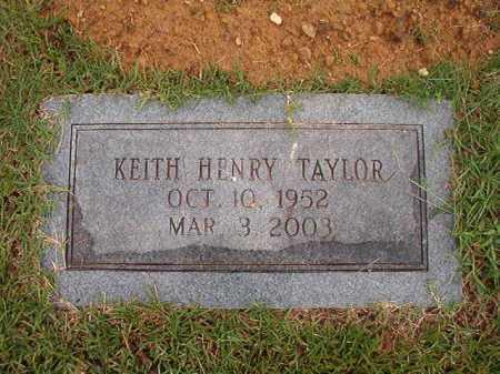 TAYLOR, KEITH HENRY - Calhoun County, Arkansas   KEITH HENRY TAYLOR - Arkansas Gravestone Photos