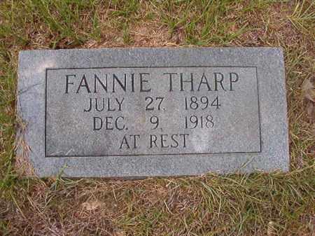 THARP, FANNIE - Calhoun County, Arkansas | FANNIE THARP - Arkansas Gravestone Photos