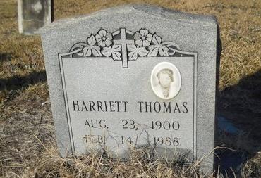 THOMAS, HARRIETT - Calhoun County, Arkansas | HARRIETT THOMAS - Arkansas Gravestone Photos