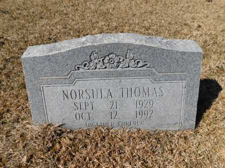 THOMAS, NORSULA - Calhoun County, Arkansas | NORSULA THOMAS - Arkansas Gravestone Photos