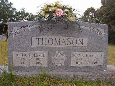 THOMASON, NORMA JEAN - Calhoun County, Arkansas | NORMA JEAN THOMASON - Arkansas Gravestone Photos