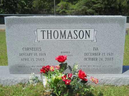 THOMASON, IVA - Calhoun County, Arkansas | IVA THOMASON - Arkansas Gravestone Photos