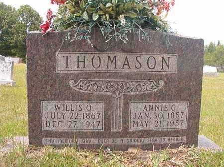 THOMASON, WILLIS OSCAR - Calhoun County, Arkansas | WILLIS OSCAR THOMASON - Arkansas Gravestone Photos