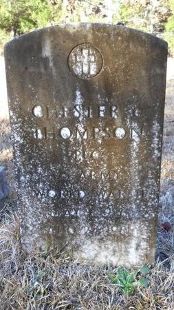 THOMPSON (VETERAN WWII), CHESTER LEE - Calhoun County, Arkansas   CHESTER LEE THOMPSON (VETERAN WWII) - Arkansas Gravestone Photos