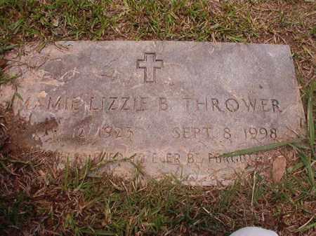 THROWER, MAMIE LIZZIE B - Calhoun County, Arkansas | MAMIE LIZZIE B THROWER - Arkansas Gravestone Photos