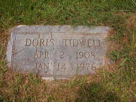 TIDWELL, DORIS - Calhoun County, Arkansas | DORIS TIDWELL - Arkansas Gravestone Photos