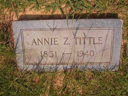 TITTLE, ANNIE Z - Calhoun County, Arkansas   ANNIE Z TITTLE - Arkansas Gravestone Photos
