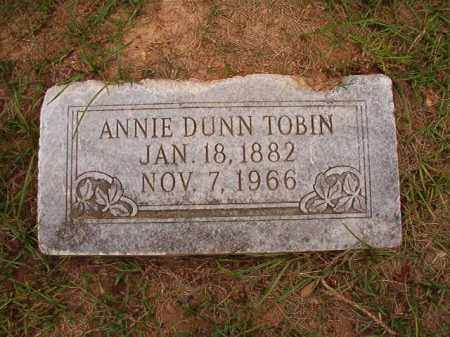 TOBIN, ANNIE - Calhoun County, Arkansas | ANNIE TOBIN - Arkansas Gravestone Photos