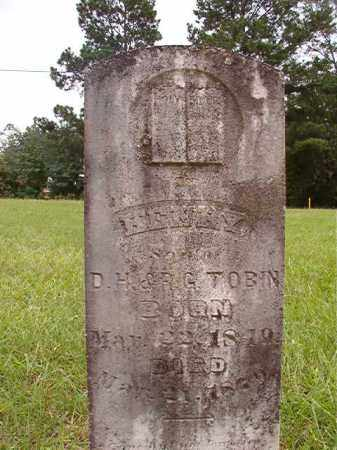 TOBIN, HENRY - Calhoun County, Arkansas   HENRY TOBIN - Arkansas Gravestone Photos