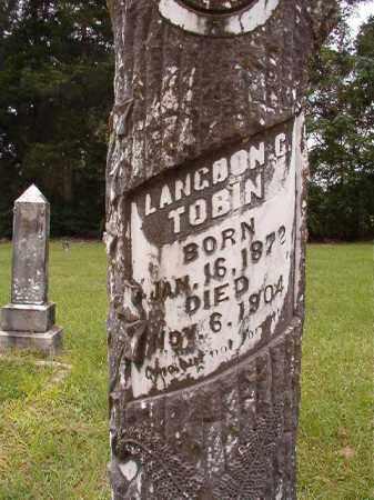 TOBIN, LANGDON G (CLOSEUP) - Calhoun County, Arkansas | LANGDON G (CLOSEUP) TOBIN - Arkansas Gravestone Photos