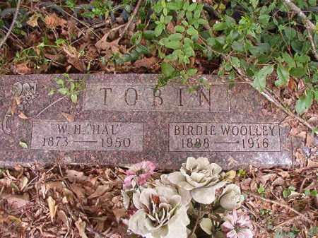 "TOBIN, W H ""HAL"" - Calhoun County, Arkansas | W H ""HAL"" TOBIN - Arkansas Gravestone Photos"