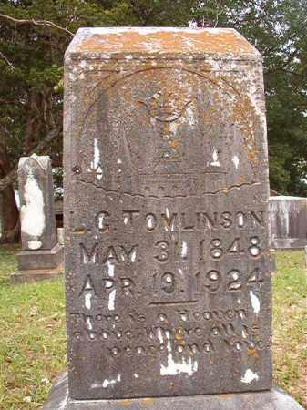 TOMLINSON, L G - Calhoun County, Arkansas   L G TOMLINSON - Arkansas Gravestone Photos