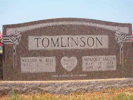 TOMLINSON, MONIQUE - Calhoun County, Arkansas | MONIQUE TOMLINSON - Arkansas Gravestone Photos