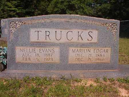 TRUCKS, NELLIE - Calhoun County, Arkansas | NELLIE TRUCKS - Arkansas Gravestone Photos