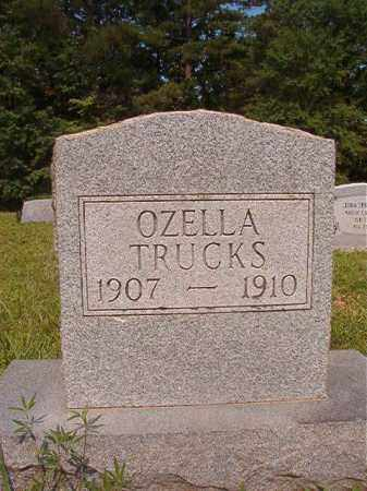 TRUCKS, OZELLA - Calhoun County, Arkansas | OZELLA TRUCKS - Arkansas Gravestone Photos