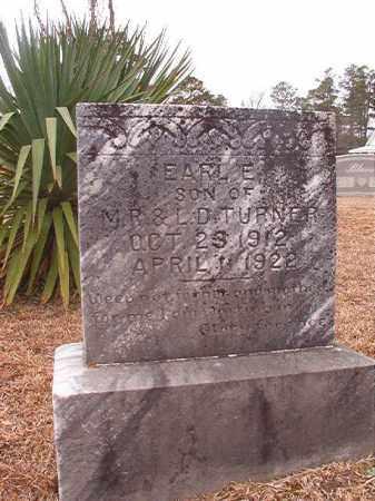 TURNER, EARL E - Calhoun County, Arkansas | EARL E TURNER - Arkansas Gravestone Photos
