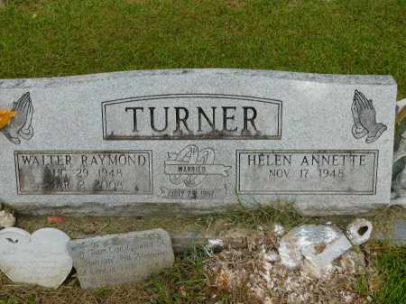TURNER, WALTER RAYMOND - Calhoun County, Arkansas | WALTER RAYMOND TURNER - Arkansas Gravestone Photos