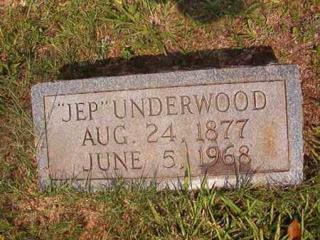 "UNDERWOOD, ""JEP"" - Calhoun County, Arkansas   ""JEP"" UNDERWOOD - Arkansas Gravestone Photos"