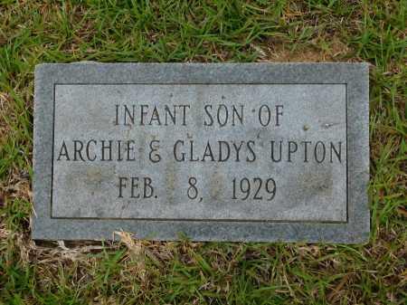 UPTON, INFANT SON - Calhoun County, Arkansas   INFANT SON UPTON - Arkansas Gravestone Photos